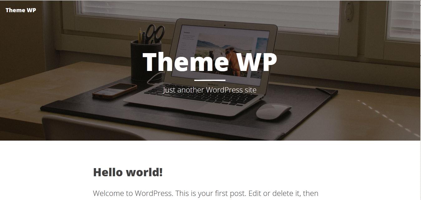 cara membuat theme wordpress dari bootstrap