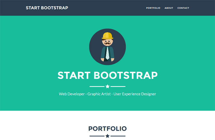 how to use bootstrap templates - membuat landing page di wordpress menggunakan bootstrap