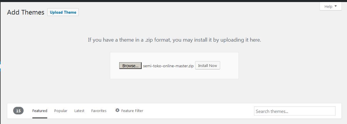 toko online install 2