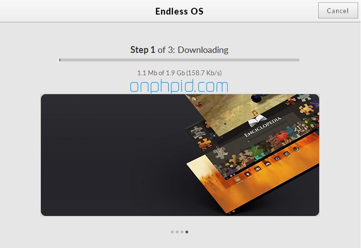 downloading endless os